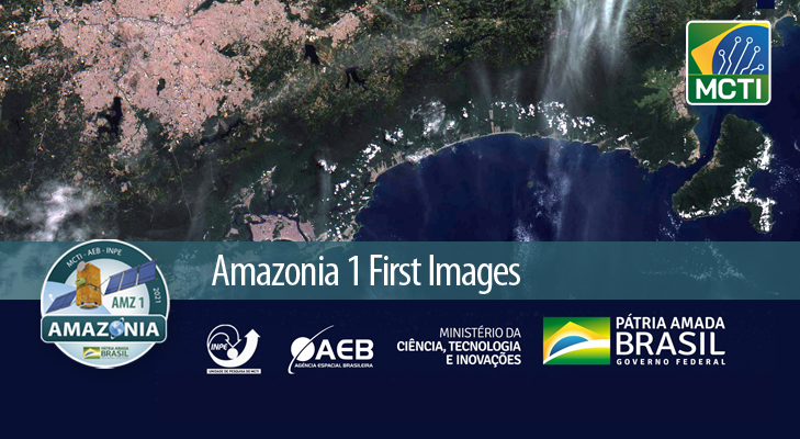 Amazonia 1 First Images