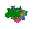 Imagem INPE apresenta taxa de desmatamento consolidada do PRODES 2015