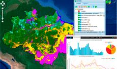 Imagem INPE lança novo portal de dados e mapas sobre desmatamento e facilita acesso ao PRODES