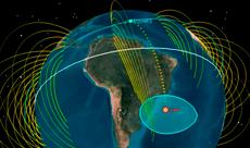 Imagem Satélite científico EQUARS contribuirá para o monitoramento do clima espacial