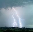 Imagem INPE revela aumento de tempestades com raios