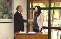 Imagem INPE e Spaceflight assinam contrato para lançar o Amazonia-1