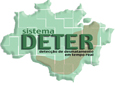 Imagem Alertas de desmatamento na Amazônia verificados pelo DETER somam 208 km² no último bimestre de 2011