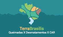 Imagem Novo painel do TerraBrasilis: Sala de Situação da Amazônia (AMS)