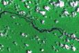 Imagem Imagens de câmeras brasileira e chinesa do satélite CBERS-4 são processadas pelo INPE