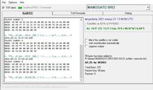 Imagem Primeiros sinais do NanoSatC-BR2 recebidos com sucesso