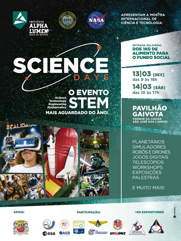 Banner Science Days Brazil