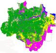 Imagem INPE apresenta dados consolidados do PRODES 2011