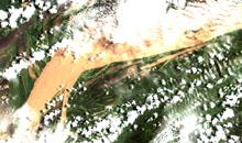 Imagem Vice-presidente Hamilton Mourão e Ministro Marcos Pontes visitam satélite Amazonia1 no INPE/MCTI