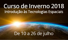 Imagem Universitários participam de Curso de Inverno sobre Tecnologias Espaciais