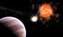 Imagem Descoberta de exoplaneta por pesquisa liderada por ex-aluno da Pós-Graduação do INPE é destacada pela Sociedade Astronômica Americana (AAS)