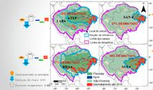 Imagem Estudo liderado por pesquisadora do INPE/MCTI mostra que a Amazônia passou a ser fonte de carbono devido as queimadas, ao desmatamento e as mudanças climáticas
