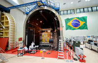 Imagem INPE realiza testes ambientais do satélite CBERS-4A