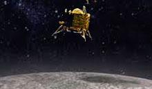 Imagem INPE realiza manobras orbitais para missão lunar Chandrayaan-2