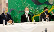 Imagem MCTI e INPE realizam audiência com o vice-presidente da República