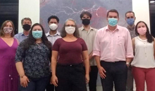Imagem INPE recebe a visita de técnicos do Ministério para Workshop do Projeto AdaptaBrasil MCTI