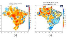 Imagem Anuário traz dados sobre clima e desastres naturais em 2018