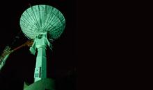 Imagem INPE instala antena para CBERS 04A e Amazonia-1