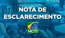 Imagem Nota à Imprensa - INPE MCTI