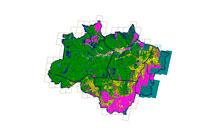 Imagem INPE consolida 7.536 km² de desmatamento na Amazônia em 2018
