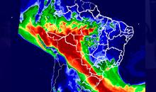 Imagem Modelo de Qualidade do Ar do INPE/MCTI retorna mais preciso