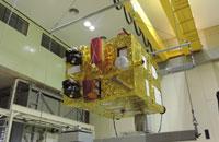 Imagem Concluídos testes mecânicos para lançamento do CBERS-4A