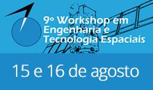 Imagem Workshop de Engenharia Espacial aceita trabalhos de graduação