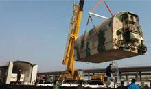 Imagem Satélite CBERS 04A é transportado para a Base de Lançamento