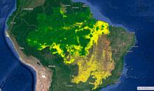 Imagem Excelência de dados do INPE é destaque no SBSR
