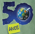 Imagem INPE lança cartilha sobre seus 50 anos