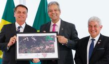 Imagem Encontro especial com o Presidente Jair Bolsonaro e o Setor Espacial Brasileiro