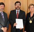 Imagem Diretor do INPE recebe título de Doutor Honoris Causa na Alemanha