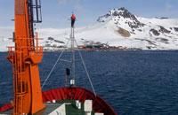 Imagem INPE coleta dados para estudos sobre influência da Antártica no clima