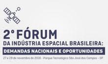 Imagem Abertas as inscrições ao Fórum da Indústria Espacial Brasileira
