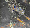 Imagem Satélite meteorológico GOES-10 será substituído por GOES-12 em dezembro