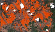 Imagem Imagens de satélite do Brasil auxiliam atendimento a incêndios florestais na Guatemala