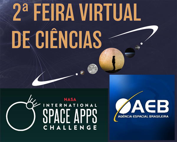 Imagem INPE no Nasa International Space Apps Challenge e na 2ª Feira Virtual da AEB
