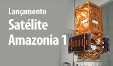 Imagem Lançamento satélite Amazonia 1