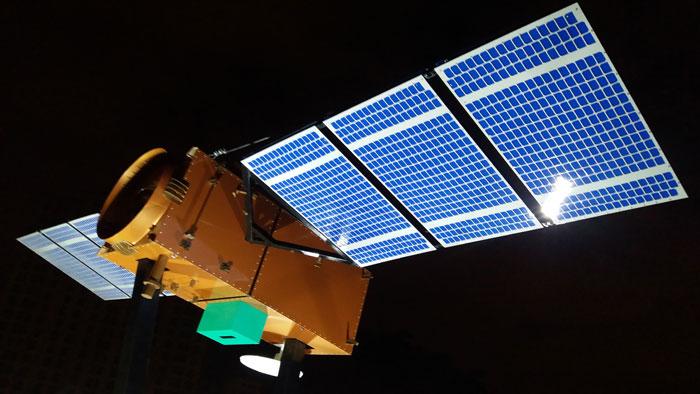 Maquete do satélite Amazonia-1 estará em exposição no Science Days