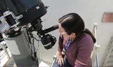 Imagem INPE abre Miniobservatório Astronômico na SNCT