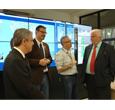 Imagem Ministro homenageia os 20 anos do satélite SCD-1 e visita Centro de Previsão do Clima Espacial