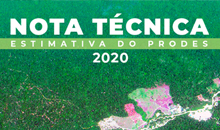 Imagem Estimativa de desmatamento por corte raso na Amazônia Legal para 2020 é de 11.088 km²