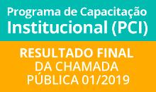Imagem INPE alerta para divulgação de resultados da Chamada PCI