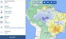 Imagem Plataforma desenvolvida pelo INPE/MCTI permite acessar projeções de mudança do clima para todo o Brasil