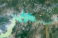 Imagem Satélite sino-brasileiro CBERS-4 supera tempo de vida no espaço