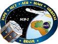 Imagem SCD-2: sete anos em órbita