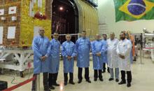 Imagem INPE recebe presidente da Agência Espacial Brasileira